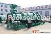 Organic fertilizer granulator for wet material