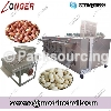 Drum Type Groundut Roasting and Peeling Machine Gas Electric