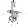Kitchen Electric Butcher Bone Saw / Stainless Steel Bandsaw For Meat Cutting